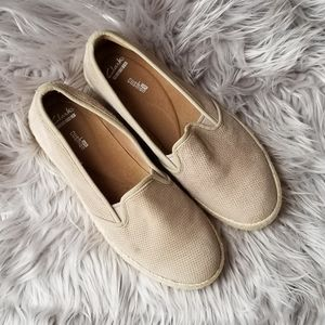 CLARKS Collection Soft Cushion Tan Shoes Size 9